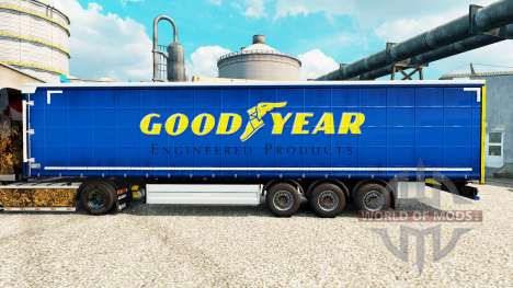 Haut Gutes Jahr für Anhänger für Euro Truck Simulator 2