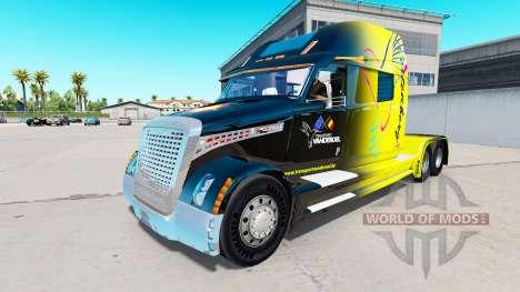La peau Vanderoel sur un Transporteur Concept de pour American Truck Simulator