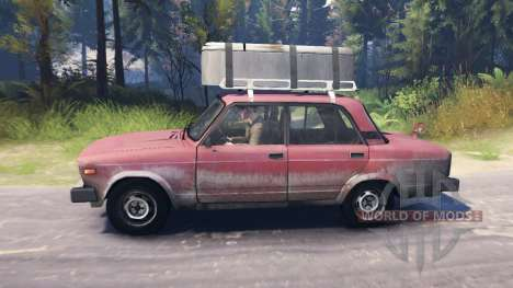 VAZ-2105 pour Spin Tires