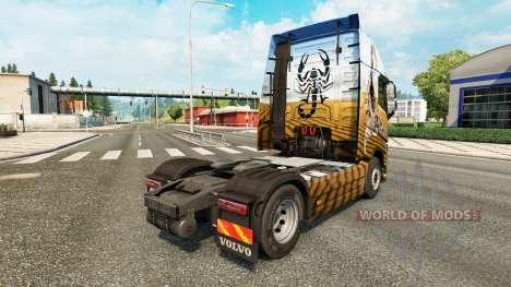 Scorpion skin für Volvo-LKW für Euro Truck Simulator 2