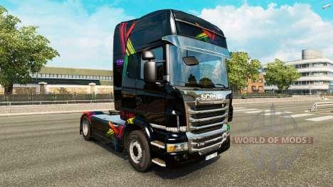 FDT de la peau pour Scania camion pour Euro Truck Simulator 2
