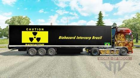 Haut Biohazard Intercorp Brasilien im Halbfinale für Euro Truck Simulator 2