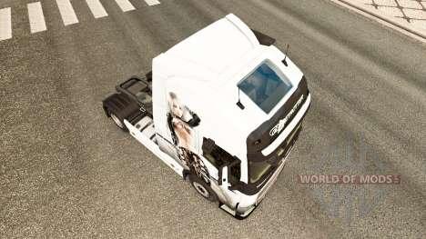 Sexy Fantasy skin für Volvo-LKW für Euro Truck Simulator 2