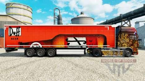 Haut Duff auf semi für Euro Truck Simulator 2