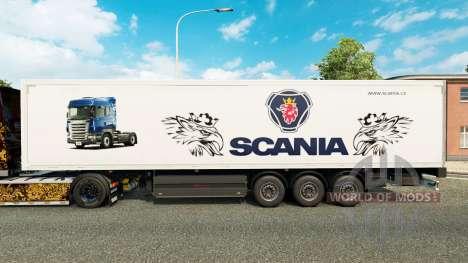 Skin für Scania Trailer für Euro Truck Simulator 2