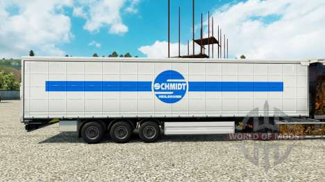 Schmidt Heilbronn skin for bande-annonce pour Euro Truck Simulator 2
