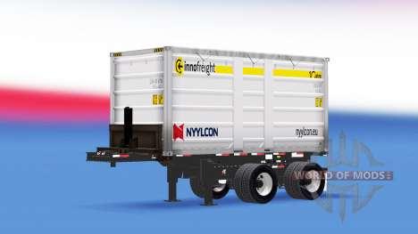 Un camion semi-remorque Nyylcon pour American Truck Simulator