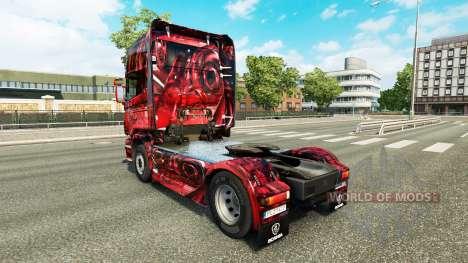 Hintergrund skin für Scania-LKW für Euro Truck Simulator 2