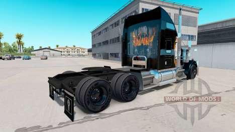 Haut Black Ops v2 auf dem truck-Kenworth W900 für American Truck Simulator