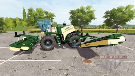 Krone BiG X 500 v1.5 pour Farming Simulator 2017
