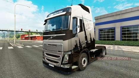Euro Express de la peau pour Volvo camion pour Euro Truck Simulator 2