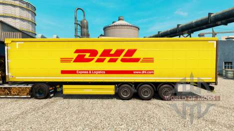 Haut DHL für Anhänger für Euro Truck Simulator 2
