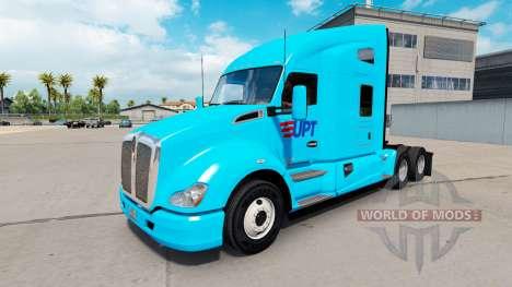 Haut ab auf den Traktor Kenworth T680 für American Truck Simulator
