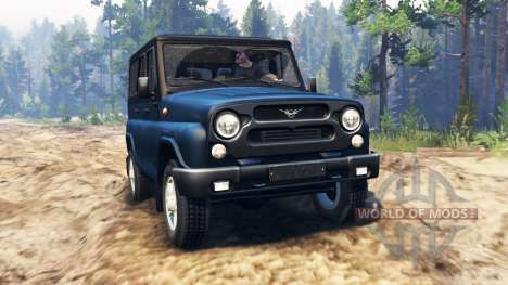 UAZ-315195 hunter pour Spin Tires