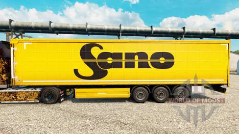 Haut Sano für Anhänger für Euro Truck Simulator 2