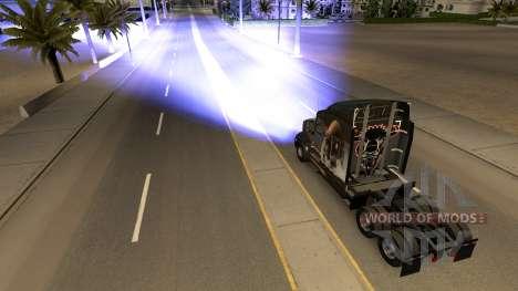 Bleu phares au xénon pour American Truck Simulator