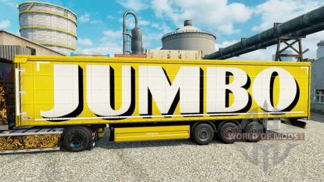 Haut auf Jumbo-Anhänger für Euro Truck Simulator 2