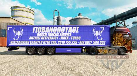 Haut-Bosch Service-Trucks und Trailern für Euro Truck Simulator 2