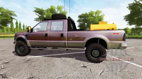 Ford F-250 FX4 king ranch pour Farming Simulator 2017