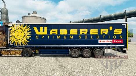 Waberers de la peau pour les remorques pour Euro Truck Simulator 2