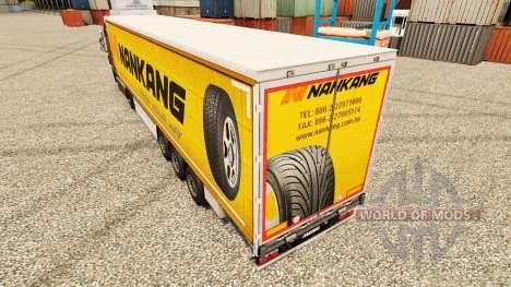 Nankang Haut für Anhänger für Euro Truck Simulator 2