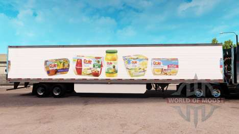 Dole Haut-extended trailer für American Truck Simulator