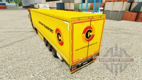 Haut: Transport auf semi-Trailern für Euro Truck Simulator 2