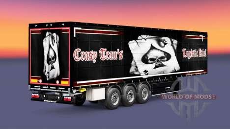 La peau Crasy Trans Logistique de Kiel pour les  pour Euro Truck Simulator 2