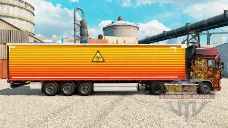 De la peau dans le flou sur semi pour Euro Truck Simulator 2