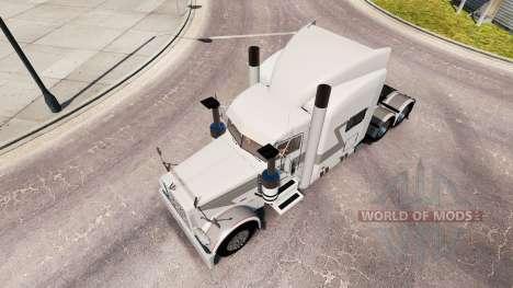 Corne de brume de la peau pour le camion Peterbi pour American Truck Simulator