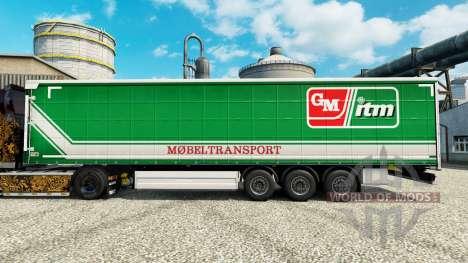 La peau GM imt Mobeltransport pour les remorques pour Euro Truck Simulator 2