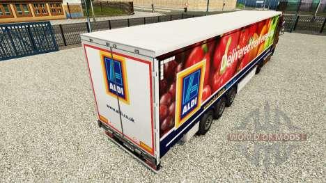 Haut Aldi Frisch Geliefert auf einem Vorhang sem für Euro Truck Simulator 2