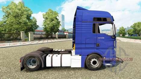 MAN TGX Euro 6 v2.1 pour Euro Truck Simulator 2