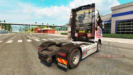 Le U. S. l'Armée de la peau pour Volvo camion pour Euro Truck Simulator 2