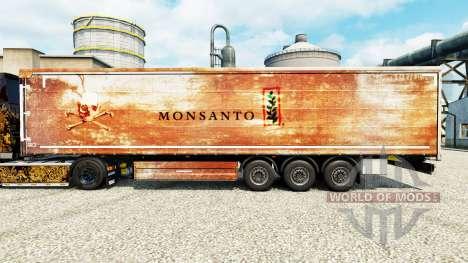 La peau de Monsanto pour les remorques pour Euro Truck Simulator 2