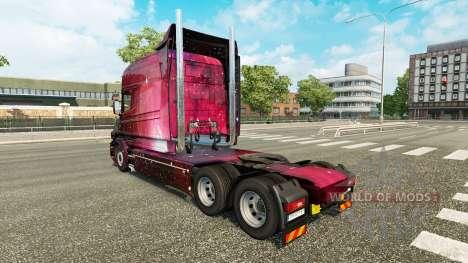 Weltall de la peau pour camion Scania T pour Euro Truck Simulator 2