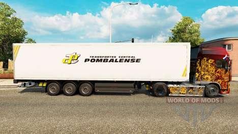 Haut Pombalense für Anhänger für Euro Truck Simulator 2