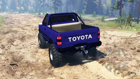 Toyota Hilux 1989 pour Spin Tires