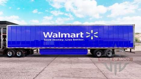Haut Walmart extended trailer für American Truck Simulator