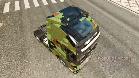 Camo skin für Volvo-LKW für Euro Truck Simulator 2