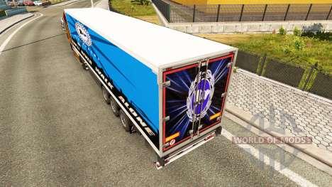 Haut Arminia Bielefeld auf semi für Euro Truck Simulator 2