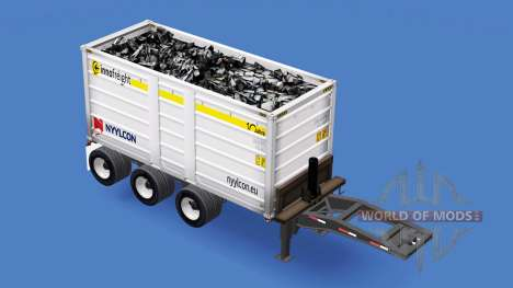Ein semi-truck Nyylcon für American Truck Simulator