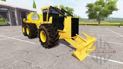 Le skidder pour Farming Simulator 2017