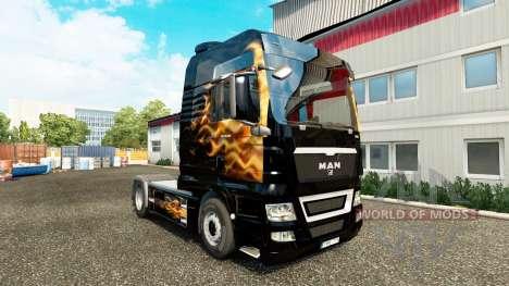 Haut Fames für Traktor MAN für Euro Truck Simulator 2