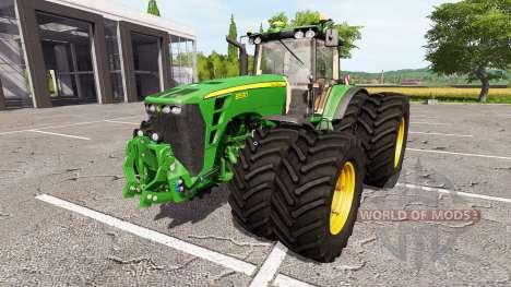 John Deere 8530 v2.0 pour Farming Simulator 2017