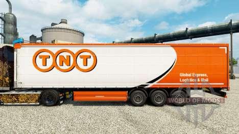 TNT de la peau pour les remorques pour Euro Truck Simulator 2