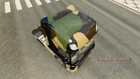Camo peau pour DAF camion pour Euro Truck Simulator 2