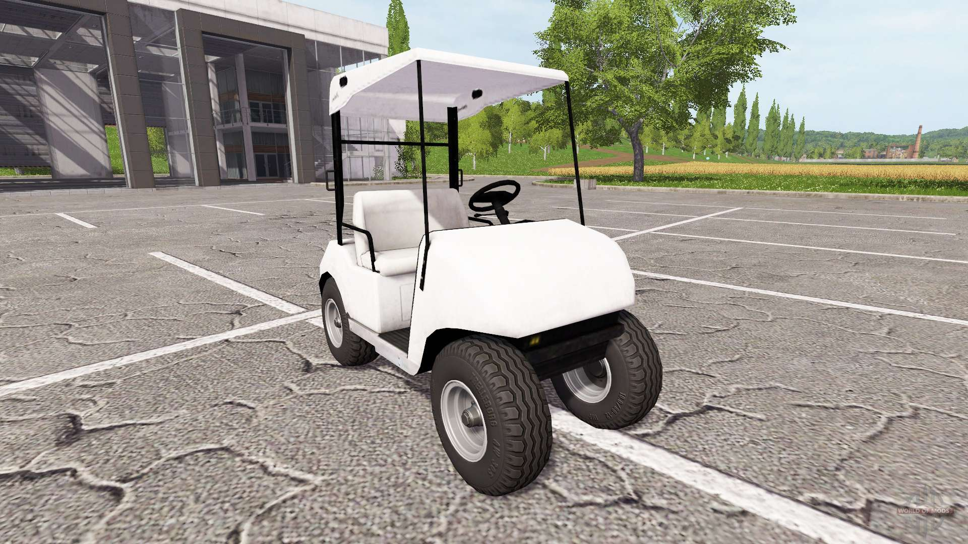 voiture de golf pour farming simulator 2017. Black Bedroom Furniture Sets. Home Design Ideas