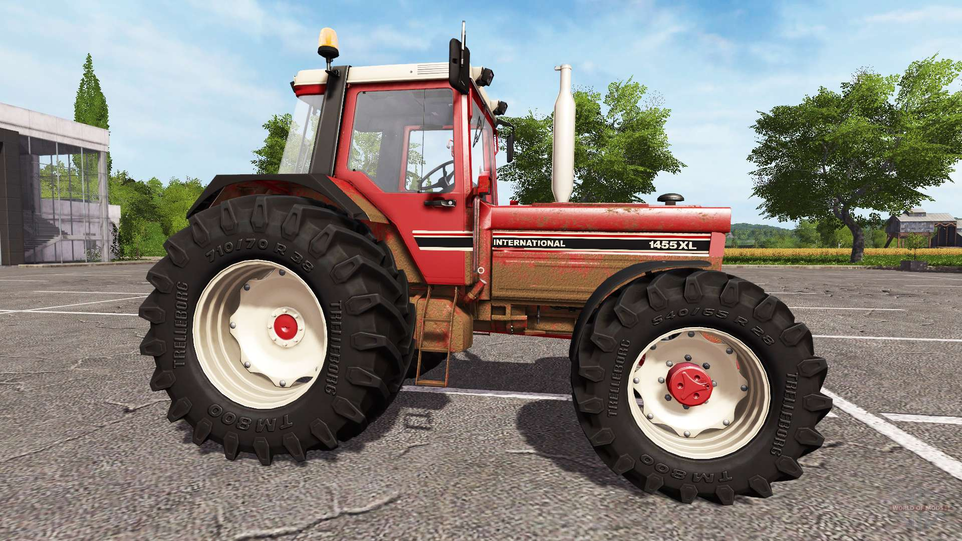 International 1455 Xl Pour Farming Simulator 2017