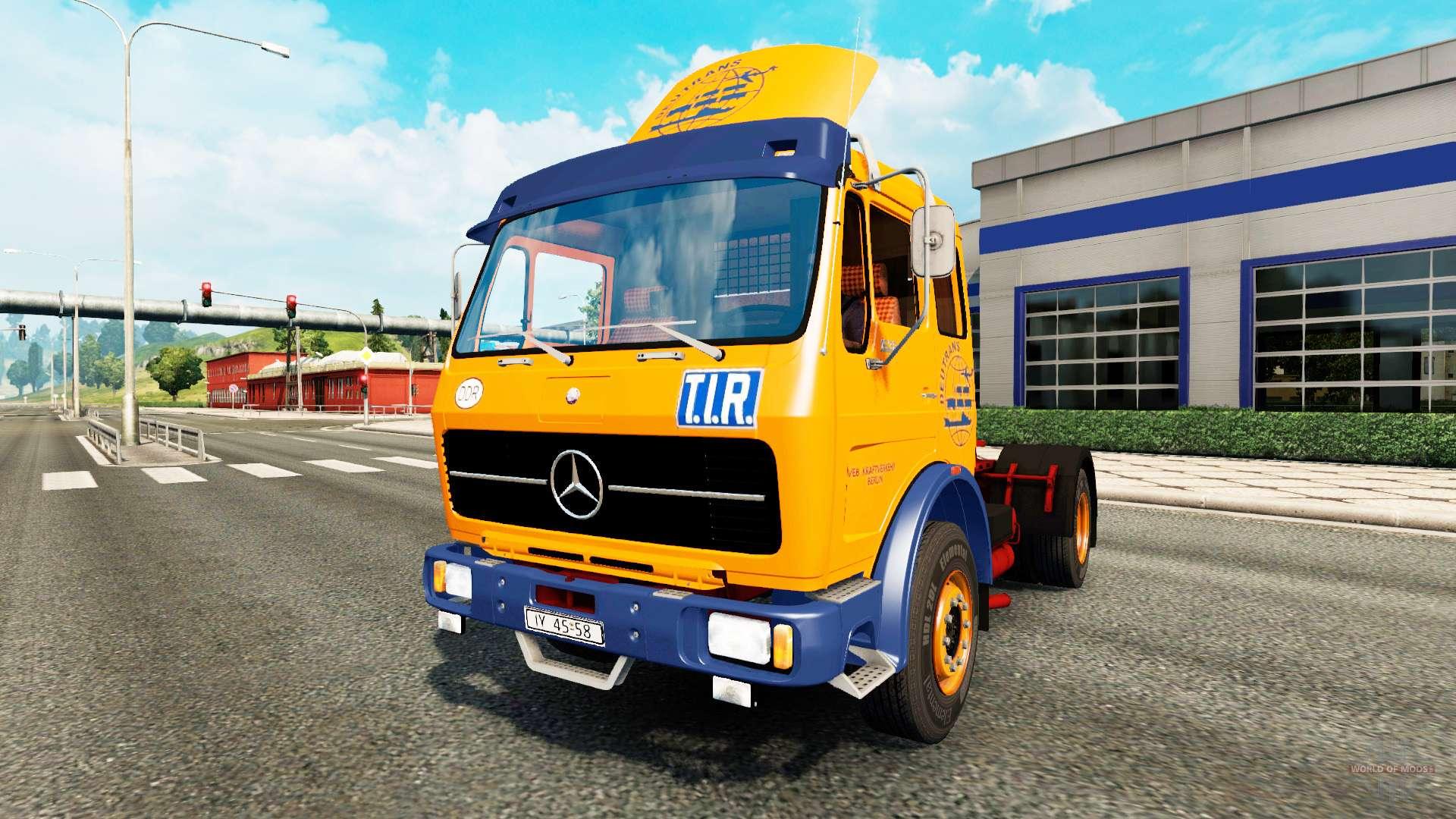 Mercedes benz 1632 f r euro truck simulator 2 for Mercedes benz euro